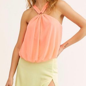 🆕 Free People Just A Fling O-Ring Tank Top